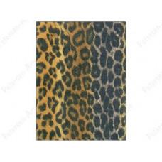Фетр (войлок) листовой с узорами (коричневый леопард), 30 х 23 (KUNK4ZPZ-POIQU.6)