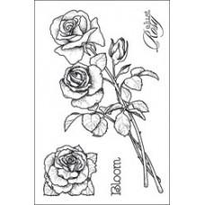 Штамп Розы (HOP2X3-1093)