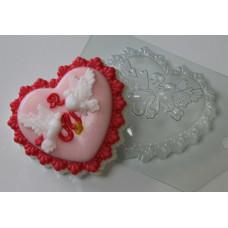 Форма для мыла Голуби свадебные