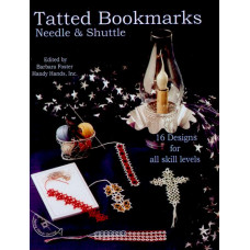 Книга Handy Hands Tatted Bookmarks-Needle & Shuttle (HA-32103)