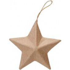 Заготовка из папье-маше, Звезда (2809-10-1008344)