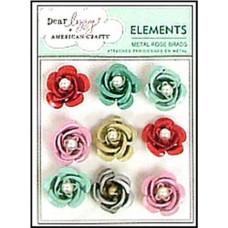 Брадсы Металлические розы (85513)