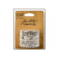 Набор лент Tissue Tape Sketchbook, Tim Holtz (TIMTH.92911)