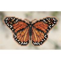 Набор для вышивания Mill Hill Бабочка Монарх (MH182105)