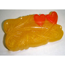 Форма для мыла Два сердца (2HRTS1241)