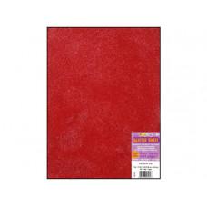 Лист из ЭВА-пены с глиттером, Red (106.915)