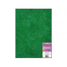 Лист из ЭВА-пены с глиттером, Green