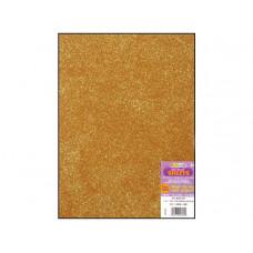 Лист из ЭВА-пены с глиттером, Gold (106.921)