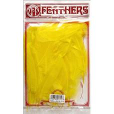 Перья Zucker Goose Satinettes Yellow, 7 гр (ZUCB206.Y)