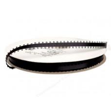Лента с петлей, черная, 5мм (316.30)