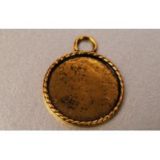 Основа для кулона Античное золото (988130)
