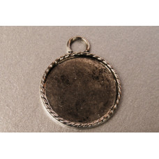 Основа для кулона Античное серебро (988147)