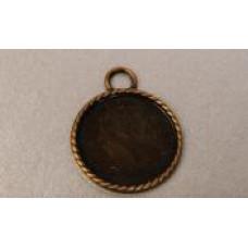 Основа для кулона Античная бронза (988123)