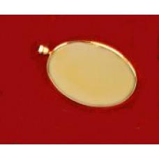 Основа для кулона, золото (987898)