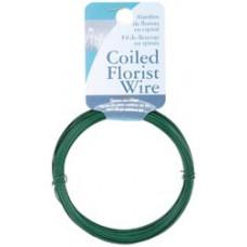 Флористическая проволока Coil Wire & Twine #24 (602450)