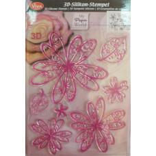 Штамп силиконовый 3d Цветок принцессы (VV-400302700)