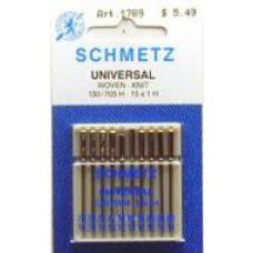 Набор игл для швейной машинки Schmetz №70/10; 80/12; 90/14 (1789)
