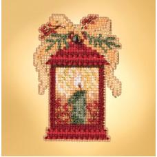 Набор для вышивания Mill Hill Рождественский фонарь (MH181934)