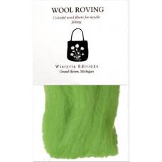 Шерсть для валяния Wistyria Editions Lime (WSTW843R)