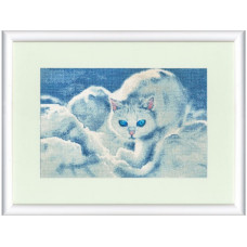 Набор для вышивания крестиком Золотое руно Белый кот (ГТ-042)