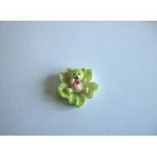 Молд силиконовый Медвежонок в цветке (73)