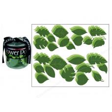 Набор бумажных листьев  Bling Green , 108 шт. (303449)