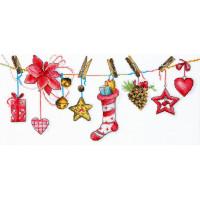 Набор для вышивания крестиком Чарівна мить Праздничное настроение (М-446)