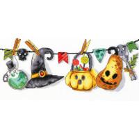 Набор для вышивания крестиком Чарівна мить Хэллоуин (М-447)