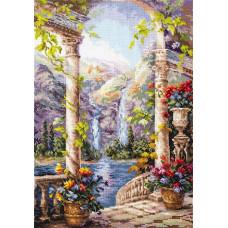 Набор для вышивания крестиком Чудесная игла На острове мечты (44-21)