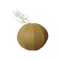 Заготовка из папье-маше, Игрушка граненый шар (CPL1002023)
