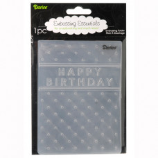 Папка для тиснения Happy Birthday (DAR1215.45)