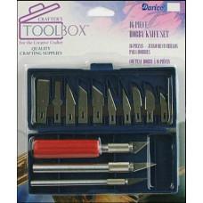 Набор ножей с лезвиями, 16 шт. (DAR97763)