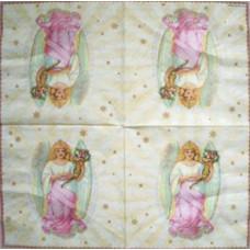Салфетка Ангел с рогом изобилия (1028)