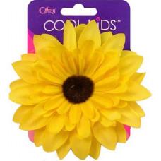 Заколка Цветок желтый (19099.640)