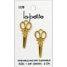 Набор пуговиц Золотые ножницы (LAPB.1179)