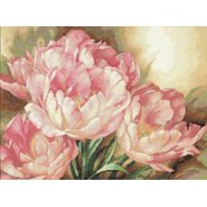Набор для вышивания крестом Dimensions Трио тюльпанов (35175)