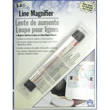 Линейка-лупа, 15,2 см. (LORLM1)