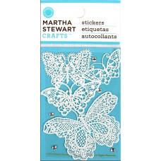 Наклейки Кружевные бабочки и стразы (4100239)