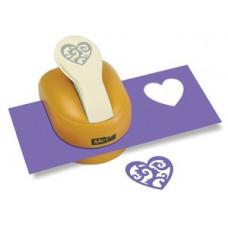 Дырокол Silhouette Lever Heart (81011)