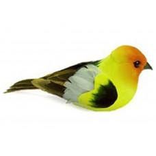 Декор Птица Birds Feather Orange/Yellow/Black (MDI20642)