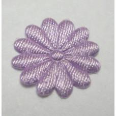 Тканевый цветочек лавандовый