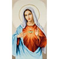 Набор для вышивания крестиком Чарівна мить Дева Мария (М-462)