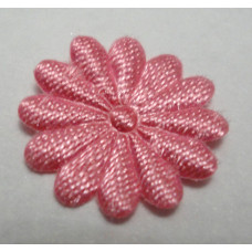 Тканевый цветочек розовый