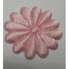 Тканевый цветочек бледно-розовый