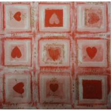 Салфетка Влюбленные сердца (1190)