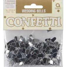 Набор конфетти Серебряные колокольчики Amscan (3701918)