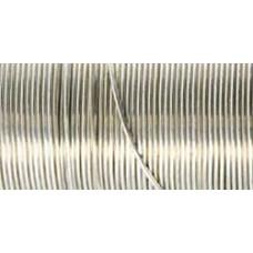 Проволока серебристая 20 Gauge Wire (20GA-85218)