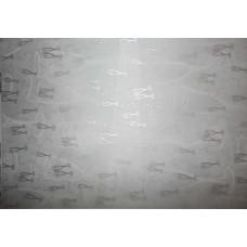 Веллум полупрозрачный СВАДЕБНЫЕ БОКАЛЫ, серебро (78871)