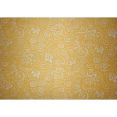Веллум полупрозрачный Ажур, оранжевый (20-4879671)
