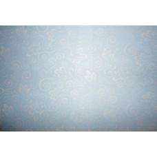 Веллум полупрозрачный Ажур, голубой (79670)